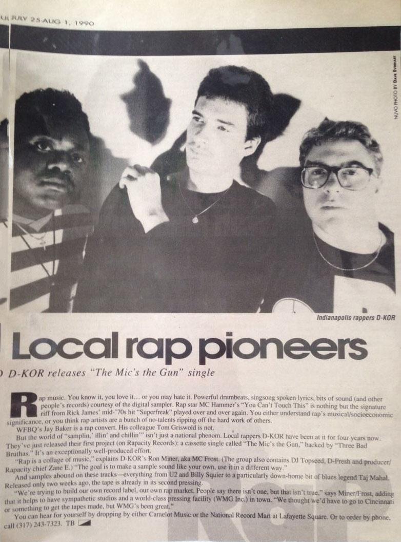 Local Rap Pioneers